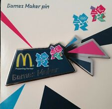 London 2012 Olympics and Paralympic Games Maker MASCOTS  Pin Badges