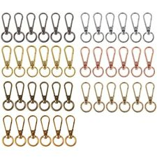 6 PCS Swivel Clasp Spring Snap Hook Key Ring Chain Bag Hardware Accessories