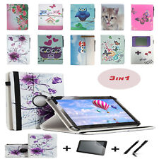 "3 IN 1 SET Screen Protector + 10.1"" Case Cover For MEDION LIFETAB P10505"