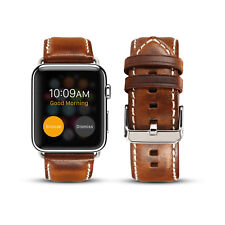 Genuine Leather Buckle Wrist Watch Band Strap Belt for iWatch Apple Watch38 42mm