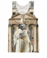 ROUT Sloth Pope Tank Top