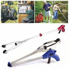 83cm Foldable Garbage Pick Up Tool Grabber Reacher Stick Reaching Grab Claw Grip