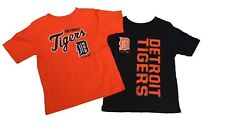 Detroit Tigers Official MLB Genuine Infant Toddler Size 2 T-Shirt Combo Set New