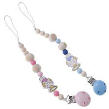 Baby Infant Kids Dummy Pacifier Soother Nipple Clip Chain Holder Strap