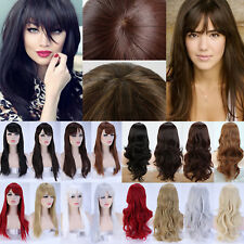 Cheap Synthetic Hair Full Wig Costume Cosplay Natural Long Curly Wave  Ombre Hg