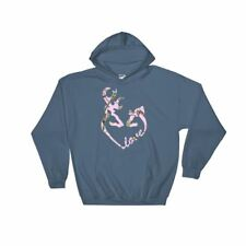 Heart shaped Buck and Doe Love in a Pink Camo Hoodie