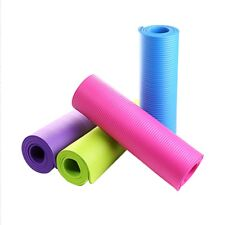 Yoga Mat Thick Pad Non-slip Fitness Exercise Pilates Fitness Easy Clean Light