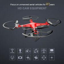 X8 18Mins 4CH 6Axis RC FPV Drone Altitude Hold Wifi HD Camera Quadcopter APP LED