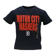 Detroit Tigers Official MLB Genuine Kids & Youth Size Motor City T-Shirt New