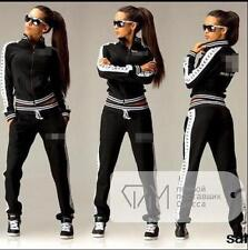 2Pcs Women Tracksuit Hoodies Sweatshirt Pants Sets Sport Wear Casual suit AM