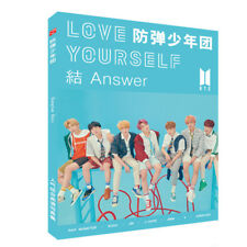 Kpop BTS Bangtan Boys Love Yourself 结 Answer Photo Book New Album Picture Poster