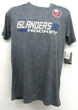 NHL New York Islanders Mens Short Sleeve Activewear T Shirt - Choose size