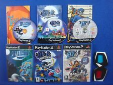 ps2 SLY RACCOON PAL Original/Band Of Thieves/Honour Among Thieves