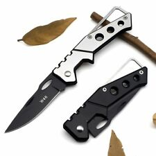 Mini Portable Knife Fold Camping Tactical Folding Pocket Ring Outdoor Tools Hunt