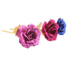 Gold Foil Plated Rose Valentine's Day Gift Rose Flower Gifts Lovely