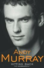 Hitting Back: The Autobiography by Murray, Andy Hardback Book The Cheap Fast