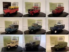 Land Rover, Models , Model Cars, Oxford Diecast Part 1