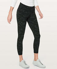 "NWT LULULEMON ALIGN PANT ll* 25"" SEQUOIA CAMO DEEP COAL BLACK~2~ PRIORITY SHIP"
