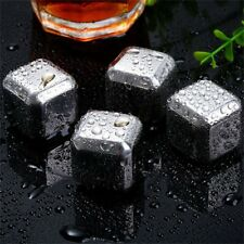 Reusable Non-Toxic Safe Stainless Steel@GJne Ice Cooling Cubes No Melt DF