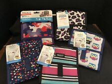 PackIt Freezable Mini Canvas Lunch Bag 5 Designs CHOOSE ONE New