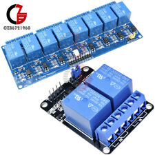2/8 Channel 5V Relay Module With Optocoupler For Arduino PIC AVR DSP ARM