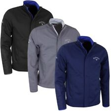 Callaway Golf Mens LC Logo Softshell Windproof Water Repellent Jacket