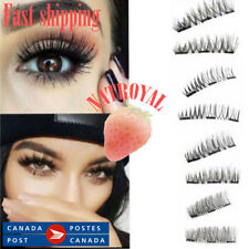 Triple Magnetic Eye Lashes 3D Mink Reusable False Magnet Eyelashes Extension