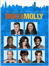 MIKE & MOLLY THE 6TH AND FINAL SEASON 6 New 2 DVD Set Melissa McCarthy