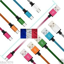 CABLE CHARGEUR USB RENFORCÉ IPAD AIR IPHONE 7/8/X PLUS PIN SYNCRO LIGHTNING