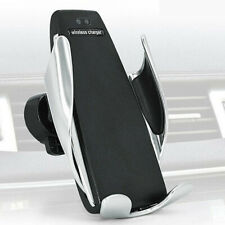Universal Stable Car Wireless Charger Phone Holder Clamp Mount fr iPhone Samsung