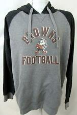 Cleveland Browns Mens L or XL Screened Pullover Hooded Sweatshirt ACBN 70