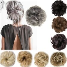 2019 Newest Hot Fashion Curly Messy Bun Hair Piece Scrunchie Updo Cover Hair