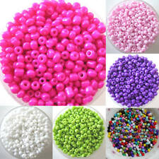 HB- ALS_ 1200Pcs 2mm Round Czech Glass Seed Spacer Loose Beads Jewelry DIY Makin