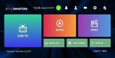 1 year IPTV subscription via IPTV smarters +10000 channels and vod xtreamcode
