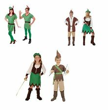 Robin hood/Peter Pan Fancy Dress Child/Adult CostumeAll
