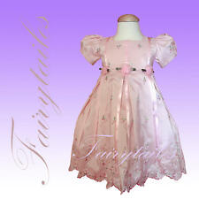 NWT New Sara Lene Too Pink Spring Easter Girl Dress