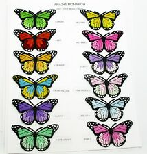 Iron On Applique - Monarch Butterfly Large - Colors