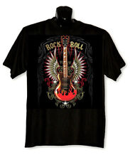 Rock & Roll T-Shirt   Big Sizes --  Black