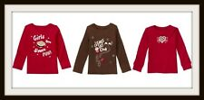 NWT Gymboree ALPINE SWEETIE LS Red Shirt Top 5 6 7 8