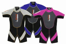 CHILDRENS NALU SHORTIE WETSUIT AGES 1-12 yrs