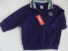 Gymboree DANCE TEAM Purple Peace Cardigan Zip Jacket NWT School 5 6