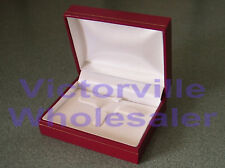Leatherette Ring & Earring Combo Box #111 - BUY MORE & SAVE