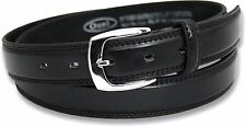 """NEW BOYS BLACK OR BROWN LEATHER LINED BELT SCHOOL WEDDING NWT SIZE 20"""" - 32"""""""