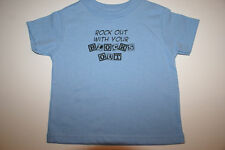 Funny Cute Baby Infant Toddler T-Shirt- ROCK OUT WITH..