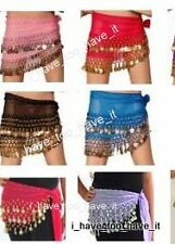 KIDS SIZE BELLY DANCE HIP SCARF COIN WRAP BELT SKIRT