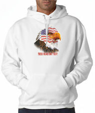USA American Flag Eagle Colors 50/50 Pullover Hoodie