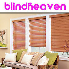 WOODEN VENETIAN BLINDS / REAL WOOD / MADE TO MEASURE