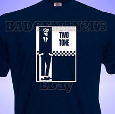 TWO 2 TONE Soul SKA Mod SCOOTER  4 Madness & Specials Music Mens T-Shirt Fans