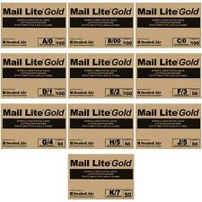 "MAIL LITE GOLD PADDED BAGS ENVELOPES "" ALL SIZES "" ANY QUANTITY"