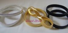 Sleeve Bands Arm Garters Holders Push Up Sleeves Gold Black Silver CHOOSE